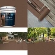 5 Gal. Sc-135 Sable Textured Solid Color Exterior Wood And Concrete Coating