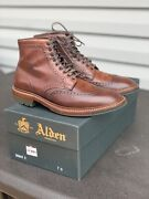 Alden Color8 Shell Cordovan Boots Barrie Last Size 7