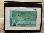 Brand New Sheex Artic Aire Max Performance Sheet Set In King White
