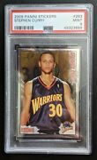 🔥stephen Curry 2009-10 Panini Foil Stickers Rookie Rc 263 Psa 9 Low Pop 37