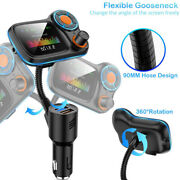 Usb Charger Bluetooth Fm Transmitter Hand-free Car Mp3 Player Radio Adapter Aux