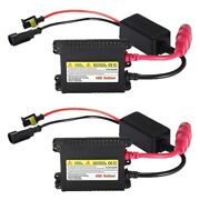 50x2pcs 35w Slim Hid Ballast For H1 H3 H4 H7 H10 H11 H13 9004 9005 9006