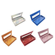 50x5pcs 1 Pair Lashes Packing Boxes Trays Eye Lash Tray Clear Box Jewelry