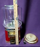Lypc Gumball Machine Model Yp109 With Key 25 Cents Used