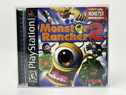 Monster Rancher 2 Sony Playstation 1 Ps1 Complete - Tested