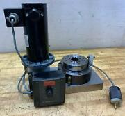 Block-head Universal Air Bearing Spindle Model 4r Dayton Variable Speed 1/6 Hp