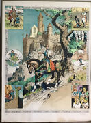 Harold Foster Signed Valiant Lithograph Comic Art Abrams 1978