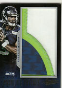 2013 Absolute Patches Russell Wilson Jumbo Patch D 23/25 Seahawks