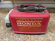 Honda Outboard 13.4 Gallon Remote Gas Tank With Tool Kit