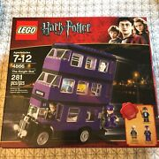 Lego Harry Potter The Knight Bus 4866 Torn Box New Complete