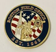 Sought After-usss Secret Service-boston Field Office-usss Challenge Coin