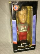 2001 Genuine Hand-painted Sterling Marlin Coors Light Bobble Head Doll Nascar