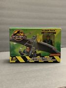 1996 Jurassic Park Lost World Glider Pack With Deluxe Ian Malcolm Kenner New Hot