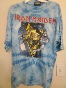 Iron Maiden 1990 No Prayer For The Dying Vintage Shirt Size Xl