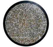 Shiny Gemstones Work Dining Table Top Luxurious Restaurant Table Size 48 Inches