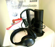 New Sly Electronics Wireless Earphone And Transmitter Slh200w Fm Radio 6 In 1