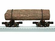 O-gauge - Lionel 6-84167 Logging Disconnect Two Pair - Brown