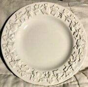 9 Wedgwood Cream On Cream Embossed Grape Bread And Butter Plates Stamp Wedgwood