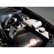 Polished Water Tank/power Steering Cover For 2005-2010 Charger/magnum/300 Srt8