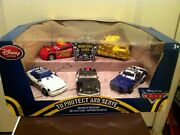 Disney Store Cars To Protect And Serve 5pk Mater With Removeable Cover Diecast New