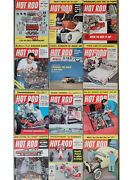 Hot Rod Magazine 1956 Scta Bonneville 1932 Ford Flatead Drag Racing Vtg Old Auto