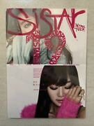 Sistar 19- 1st Single Album Gone Not Around Any Longer Rare Out Of Print Hyolyn