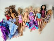Barbie Doll With Clothes Collectible Figure Huge Lot Of Figurines Dolls Toys