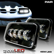 Led Headlights Headlamps For Pontiac Trans Am 1998 To 2002 Black Projector 2x