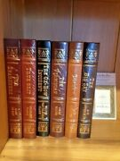 Easton Press Masterpieces Of The Wild West 6 Vols Factory Sealed True Grit Etc