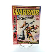 Warrior Magazine 1 First Appearance Of V For Vendetta Vhtf Rare March 1982