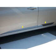 4p Luxuryfx Chrome 1 3/4-3 1/8and039 Accent Door Molding Trim For 13-15 Nissan Sentra