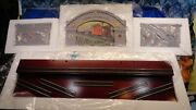Hawthorne Village Americaand039s Greatest Cabooses And Large Wood Display Stand New