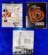 Audrey Hepburn Six Movie Blu-ray Collection Lot Rare Oop Read.