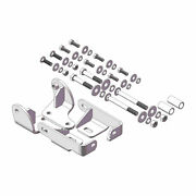 Husky Towing 5th Wheel Trailer Hitch Mount Kit Bolt-on For 2014-2018 Ram 2500