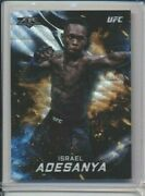 Israel Adesanya Izzy Style Bender /99 Wave Refractor 2019 Topps Chrome Tier One