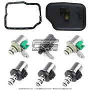 Fnr5 Fs5a-el A, B, C, D, E Shift And Epc Solenoid Set With Filter Pan Gasket 06-up