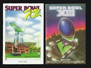 Super Bowl Xii Xiii Media Guides 2 Pedigreed Al Wester Collection Not Programs