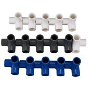 30x16pcs Plastic Pvc 20mm Hose Tee Connector 3 Way Joint For Garden Irrigation
