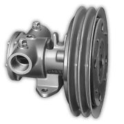 Jabsco 1-1/4 Electric Clutch Pump - Double A Groove Pulley - 12v