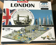 4d Cityscape Jigsaw Puzzle - London City Map With Time Layer Sealed In Plastic