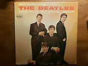 Introducing The Beatles Rare Mono All Black Labels 1963