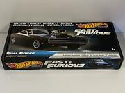 Fast And Furious Gift Box 5 Car Set Full Force Hot Wheels Real Riders 164 Grm15