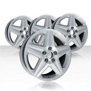 Revolve 17x6.5 Machined/silver Wheel For 2004-05 Chevy Monte Carlo Set Of 4