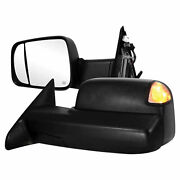 Premium Fx Power/heated Towing Mirrors W/signal And Temp Sensor For 2013 Dodge Ram