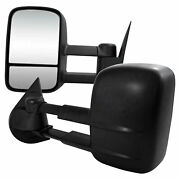Premium Fx Power/heated Towing Mirrors For 2007-2010 Chevy Silverado