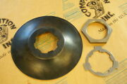 2501-20k Harley Jd Countershaft Sprocket Dust Ring Lock Washer And Nut. 1920-1935