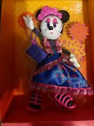 Disney Minnie Mouse Catrina Doll Day Of The Dead Collectors Edition Sugar Skulls