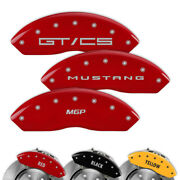 Engraved Set Of 4 Mgp Brake Caliper Covers For Ford Mustang - 10202