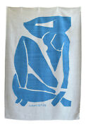 Henri Matisse - Blue Nude 3 - Inspired Silk Hand Woven Area Rug Wall Rug 5andprime X 7andprime