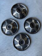1965 Ford Mustang Hubcaps 14 Set Of 4 Wheel Covers Hub Caps